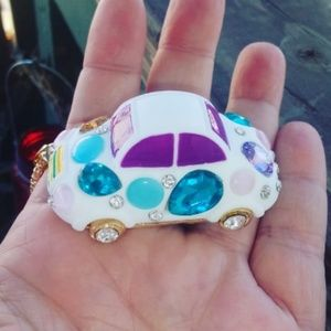 Betsey Johnson Car necklace